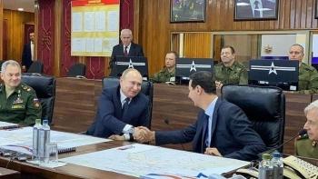 Tổng thống Nga bất ngờ thăm Syria