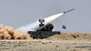 Quân đội Syria bắn hạ máy bay không người lái của kẻ thù