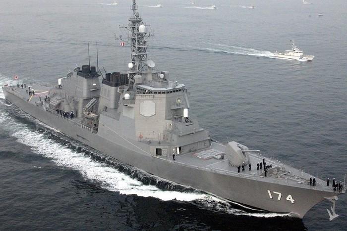 Nhật Bản điều tàu khu trục tới Trung Đông giữa căng thẳng Mỹ - Iran