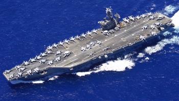 Mỹ bất ngờ rút tàu sân bay tại Trung Đông về nước