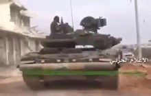 video tang t 90 tham chien tai aleppo