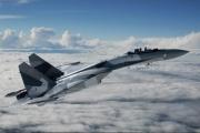 Tiêm kích Su-35S của Nga lao xuống biển