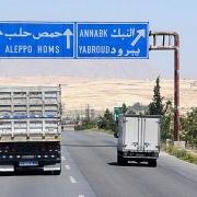 syria thong xe tuyen cao toc damascus aleppo