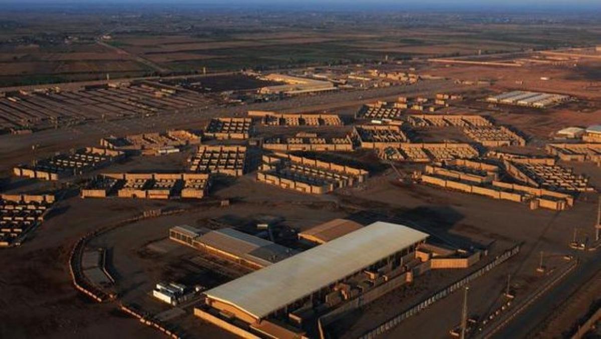 Căn cứ quân sự có nhà thầu quân sự Mỹ tại Iraq lại bị nã rocket