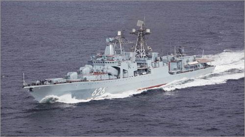 Nga trang bị thêm 40 tàu chiến trong năm 2014