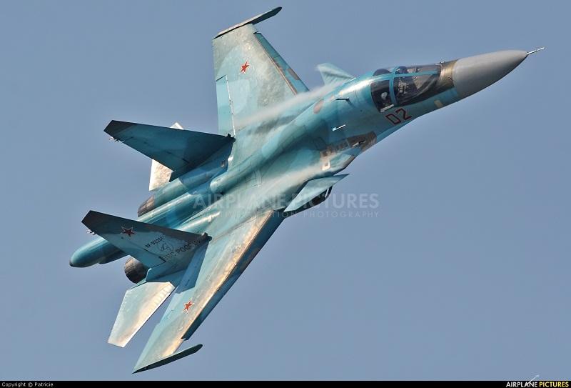 [Chùm ảnh] Máy bay đánh bom hàng đầu thế giới Sukhoi Su-34