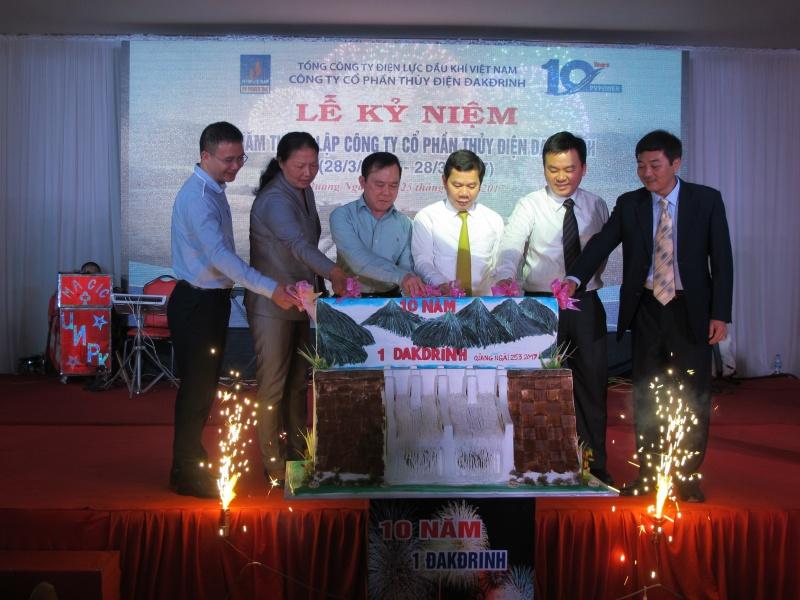 Thủy điện Đắkđrinh đã hòa lưới điện quốc gia trên 1,5 tỷ kWh