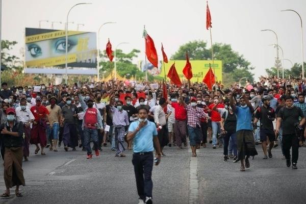 Mỹ phê chuẩn dự luật lên án cuộc chính biến ở Myanmar