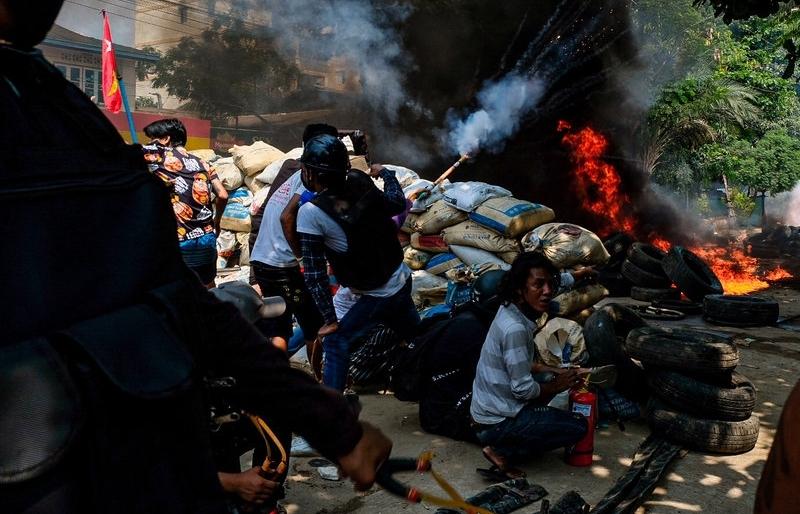 114 người biểu tình Myanmar thiệt mạng chỉ trong ngày 27/3