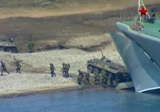 Xem hạm đội Thái Bình Dương của Nga tập trận chiến thuật