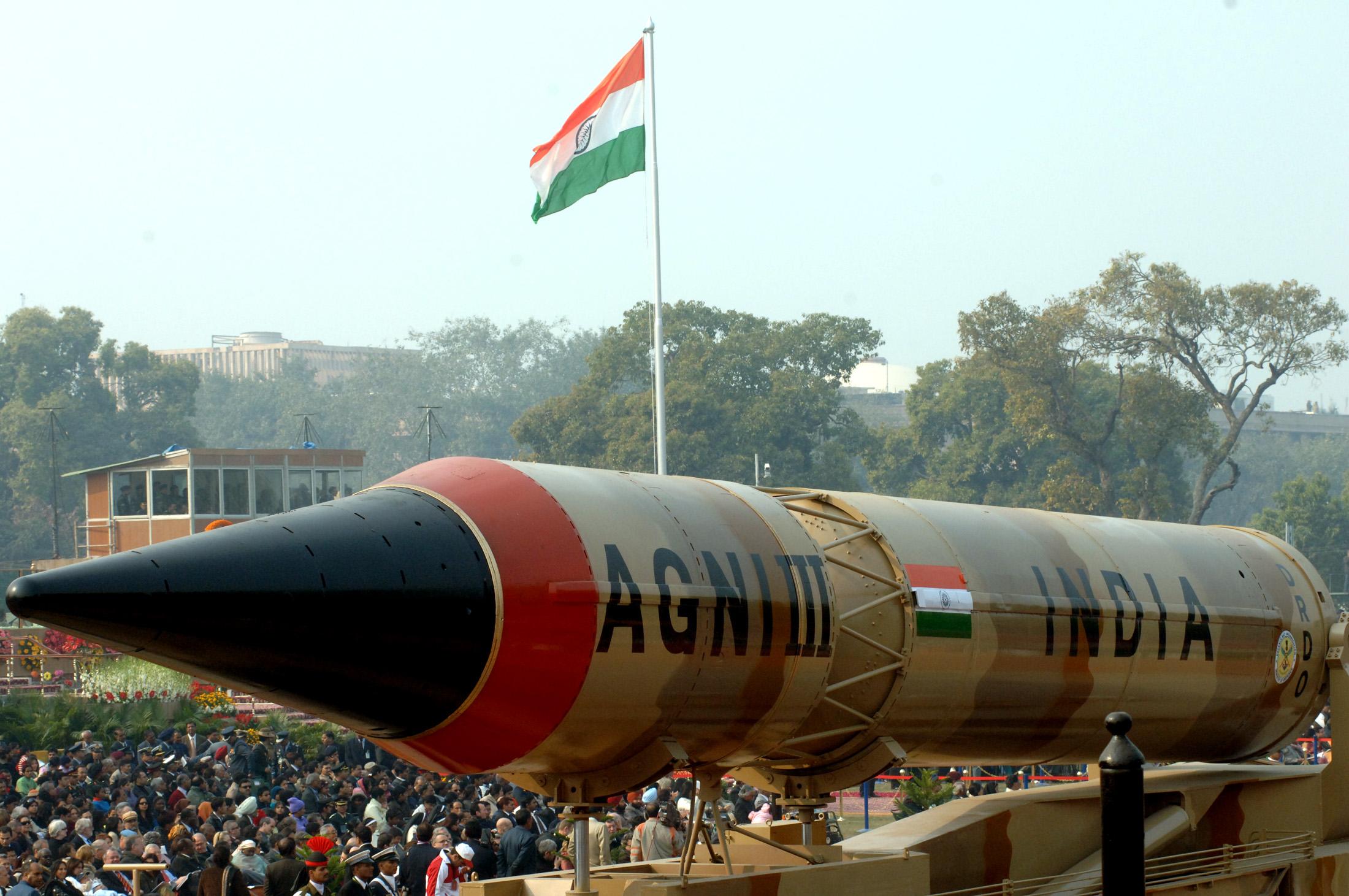 Ấn Độ lại thử tên lửa đạn đạo Agni III