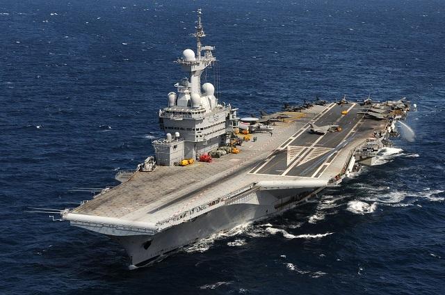 Nhóm tác chiến tàu sân bay Pháp tới Ấn Độ tập trận