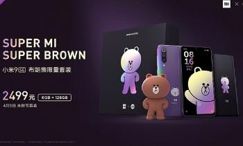 Xiaomi ra mắt smartphone Mi 9 SE phiên bản gấu nâu