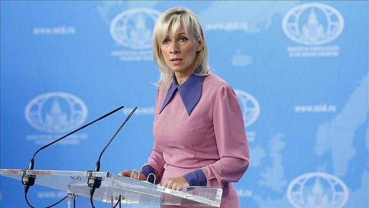 Người phát ngôn Bộ Ngoại gia Nga Maria Zakharova