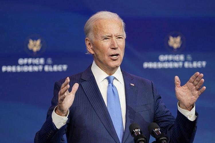 Tổng thống Mỹ Joe Biden.