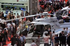 Nhộn nhịp triển lãm trực thăng quốc tế tại Nga