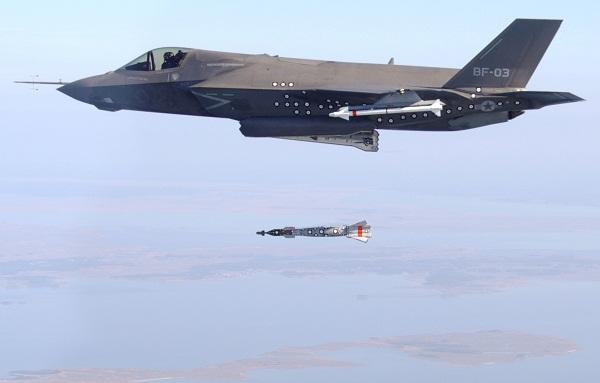Sẽ có siêu bom phá boongke cho F-35
