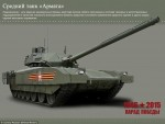 [Chùm ảnh] Siêu tăng T-14 Armata thật sự có gì?
