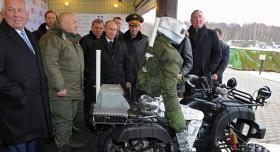Lộ diện robot chiến đấu tương lai của Nga