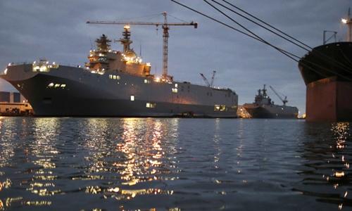 Nga hủy thương vụ mua tàu chiến hơn 1 tỉ USD của Pháp