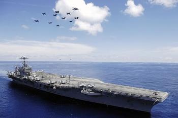 Tàu sân bay USS Abraham Lincoln tái xuất sau 4 năm