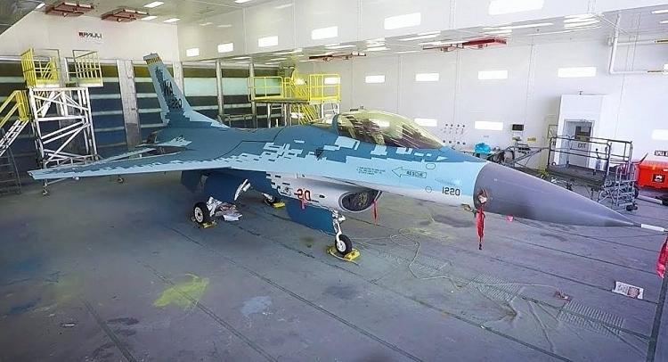 Mỹ sơn F-16 giống hệt tiêm kích Su-57 của Nga