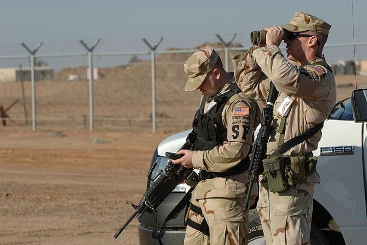 Quân đội Mỹ tại căn cứ không quân Balad