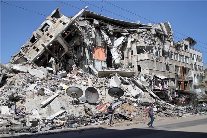 Liên Hợp Quốc tích cực hỗ trợ tái thiết Dải Gaza