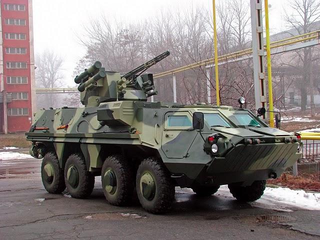Xe bọc thép chở quân BTR-4