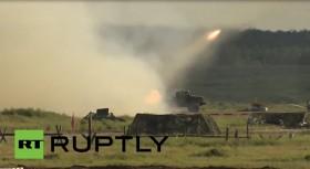 [VIDEO] Nga phô diễn sức mạnh quân sự tại triển lãm vũ khí