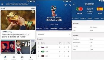 5 ung dung khong the thieu cho mua world cup 2018