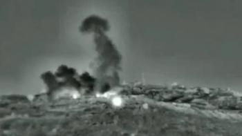 Israel lại vừa không kích hệ thống phòng không Syria