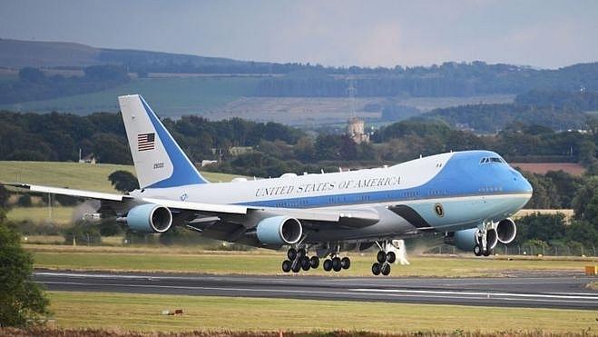 Tổng thống Mỹ công bố bản thiết kế chuyên cơ Không Lực Một mới