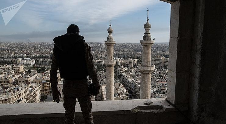 syria khung bo tan cong ngoi lang o aleppo khien 27 nguoi thuong vong