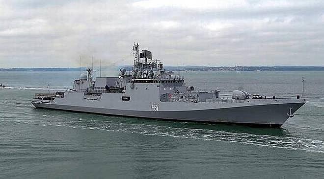 INS Trikand tham gia cuộc tập trận đầu tiên của Hải quân Ấn Độ và Lực lượng Hải quân Liên minh châu Âu ở Vịnh Aden.