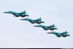 Su-34 Fullback - máy bay ném bom thế hệ mới của Không quân Nga