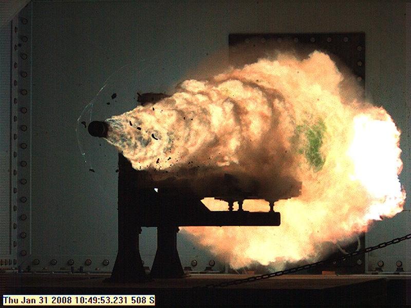Mỹ sở hữu súng điện từ có hỏa lực đáng gờm