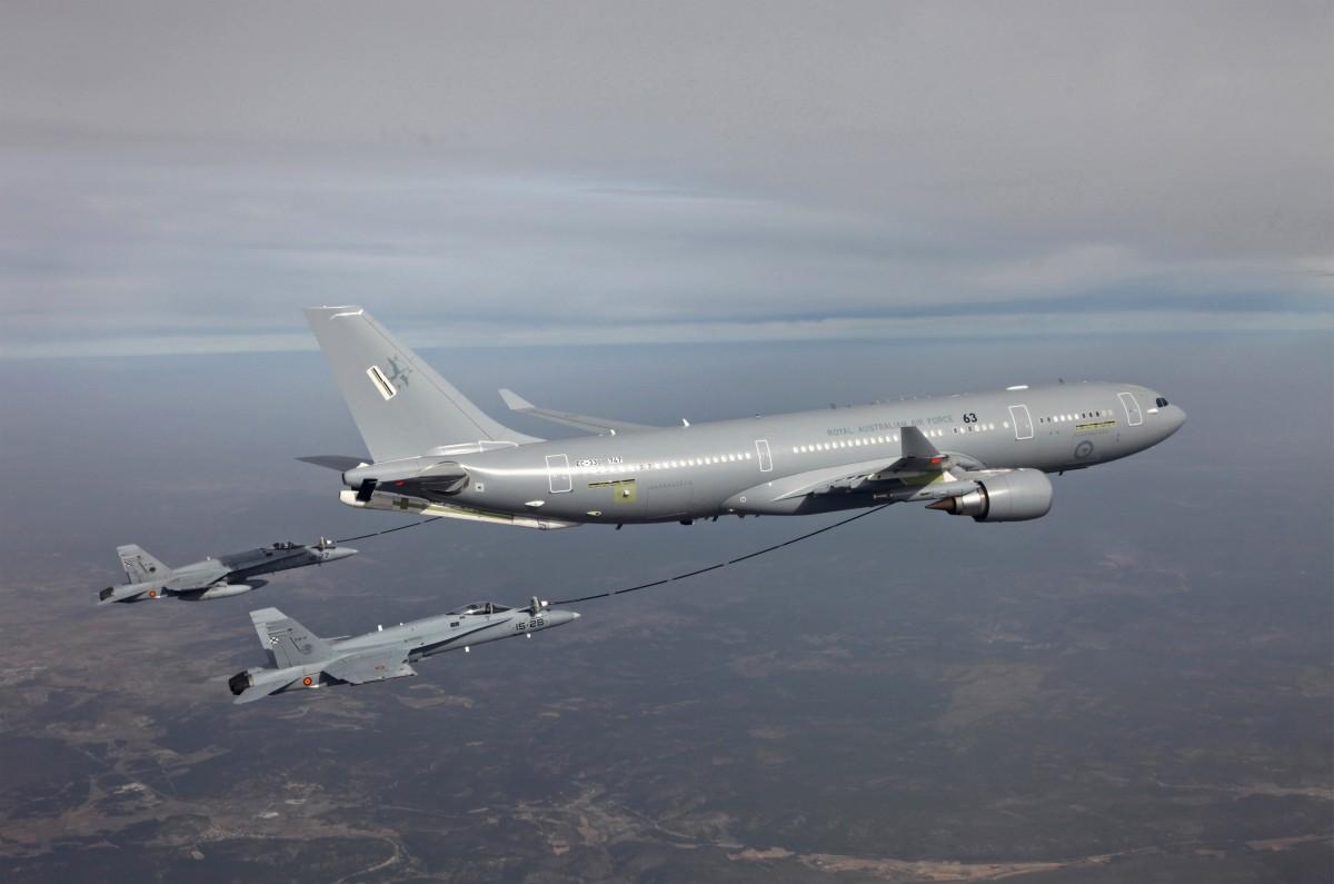 Hàn Quốc mua 4 máy bay tiếp dầu Airbus