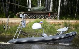 Tập đoàn Kalashnikov ra mắt xuồng tấn công, UAV mới