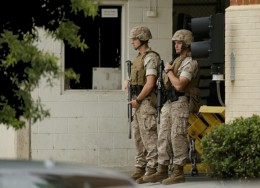 """""""Báo động khẩn"""", Mỹ phong tỏa cơ sở quân sự"""