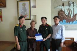 Hội CCB Tập đoàn hỗ trợ Ban liên lạc Tiểu đoàn Đặc công nước 471
