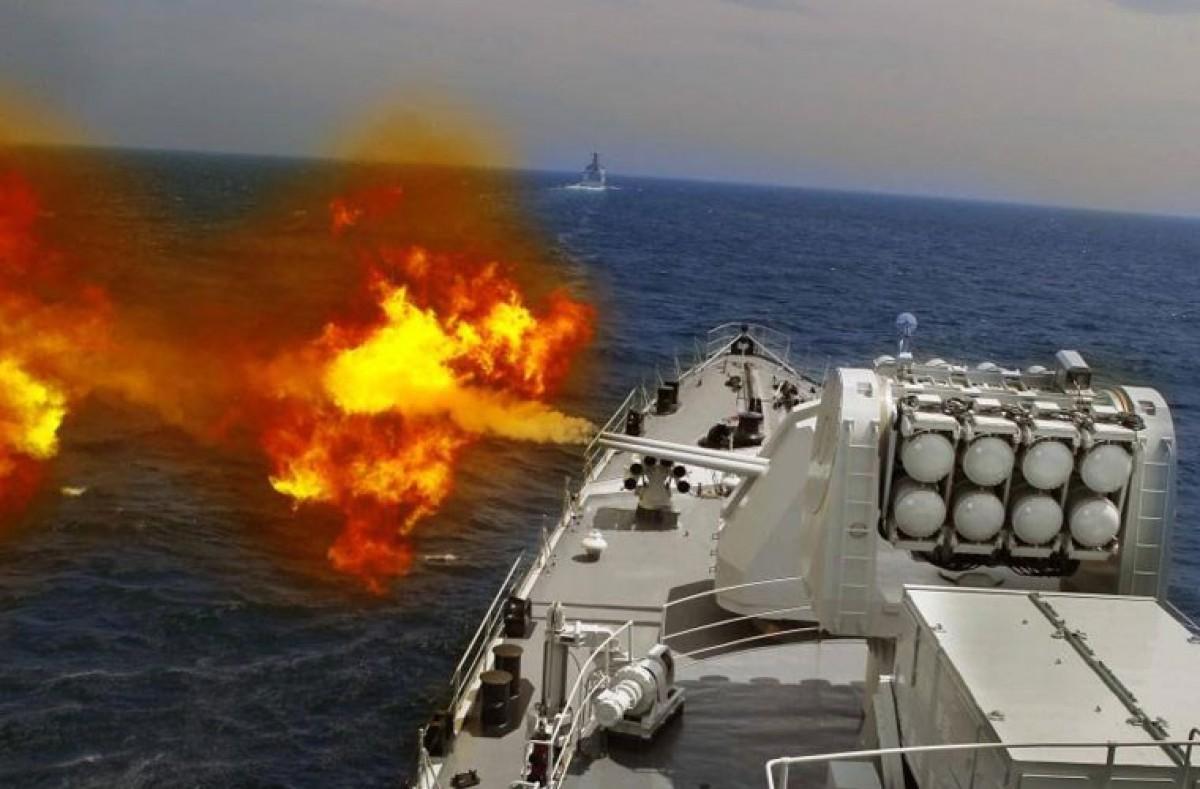 Đạn pháo mà Nga đang phát triển được gắn kíp nổ hẹn giờ và có khả năng tiêu diệt tàu địch chỉ bằng một phát súng