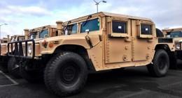 Mỹ chế tạo hơn 2000 xe bọc thép Humvee