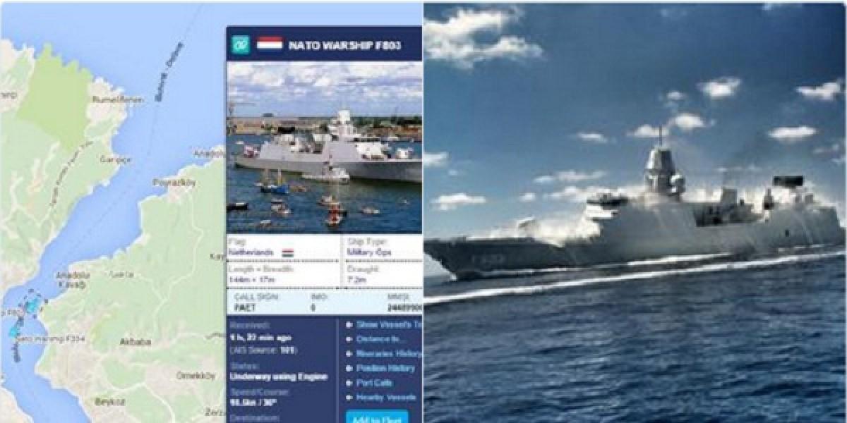 Tàu khu trục HNLMS Tromp của Hải quân Hà Lan