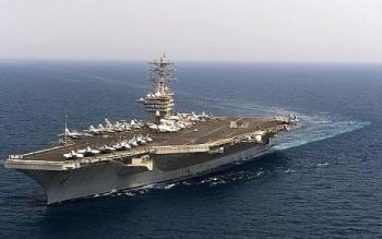 Mỹ điều tàu sân bay tập trận với Ấn Độ và Nhật Bản