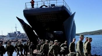 Hơn 2.000 lính Nga tập trận ở phía đông đất nước