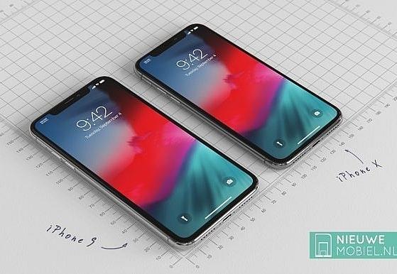 Ảnh render iPhone 2018 phiên bản giá rẻ