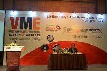 vietnam manufacturing expo 2018 voi diem nhan ve cong nghe nha may thong minh