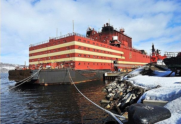 Nga khánh thành nhà máy điện hạt nhân nổi đầu tiên trên thế giới