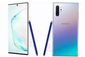 Lộ thông số kỹ thuật của bộ đôi Galaxy Note 10 sắp ra mắt
